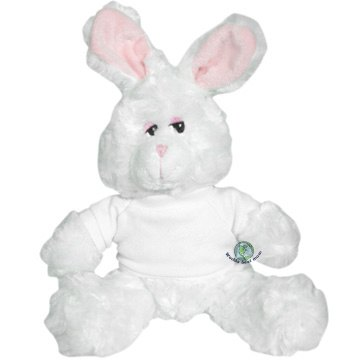 World&#x27;s Best Mom Plush Bunny