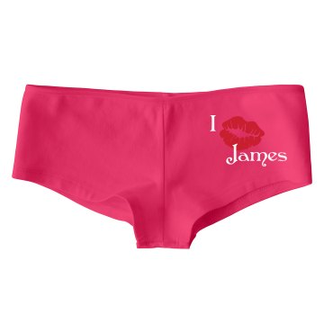 Kisses for James Bella Hotshort