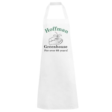 Greenhouse Apron Basic White Apron