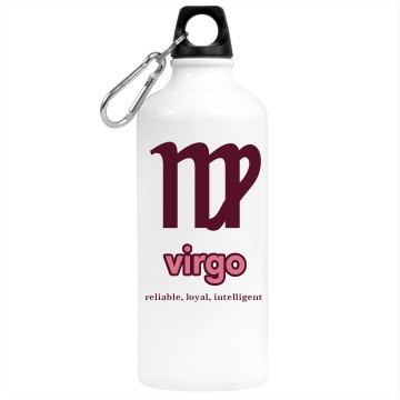 Virgo Water Bottle Aluminum Water Bottle
