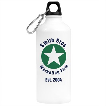 Smith Marketing Bottle Aluminum Water Bottle