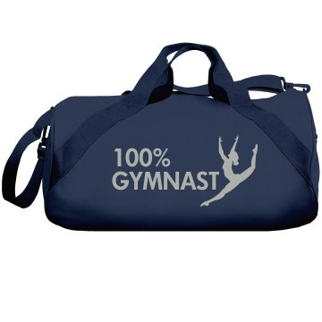 100% Gymnast Bag Liberty Bags Barrel Duffel Bag