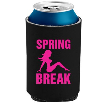 Spring Break Beverage The Official KOOZIE Can Kooler