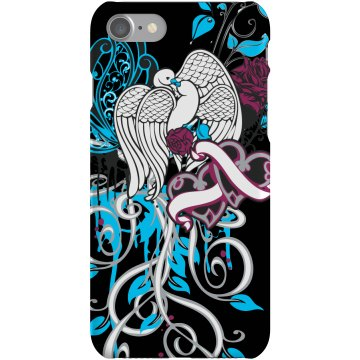 Love Birds Case Plastic iPhone 5 Case Black