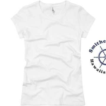 Smithe Family Cruise Junior Fit Basic Bella Favorite Tee