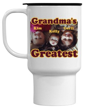 Grandma's the Greatest 15oz Travel Mug