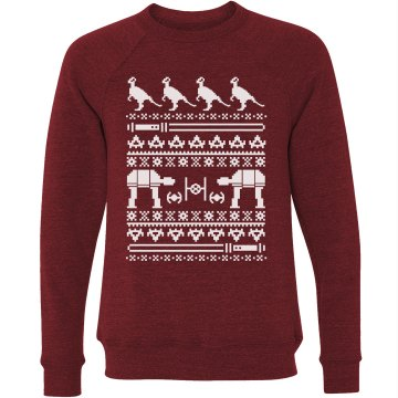 Hoth Sweater Unisex Canvas Triblend Crew