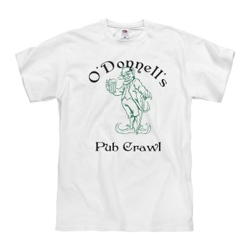 St. Patrick's Leprechaun  Unisex Basic Gildan Heavy Cotton Crew Neck Tee