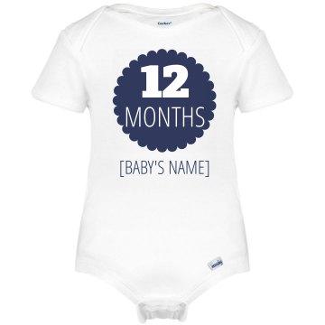 12 Month Marker