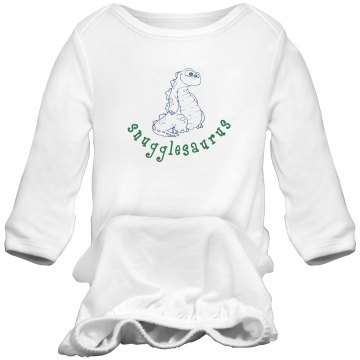 Snugglesaurus Infant Bella Baby 1x1 Rib Long Sleeve Sleeper