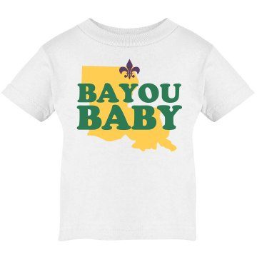 Bayou Baby Infant Tee Infant Rabbit Skins Cotton Tee