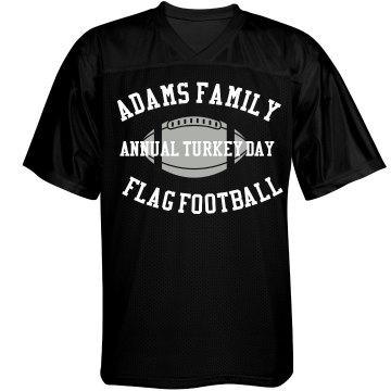 Turkey Day Football Unisex Augusta Replica Football Jersey