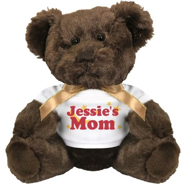 Custom Name&#x27;s Mom Medium Plush Teddy Bear