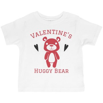 Huggy Bear Toddler American Apparel 3&#x2F;4 Sleeve Baseball Tee