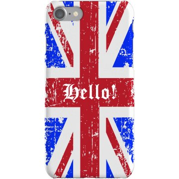 Union Jack iPhone 5 Plastic iPhone 5 Case Black