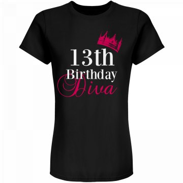 13th Birthday Diva