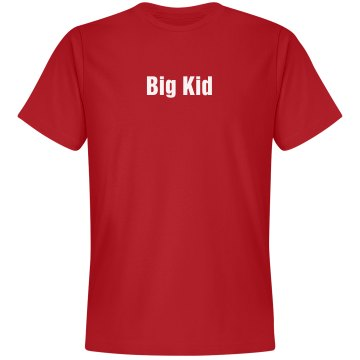 Big Kid Tee Unisex Gildan Heavy Cotton Crew Neck Tee