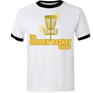 Golden Basket Unisex Anvil Ringer Tee