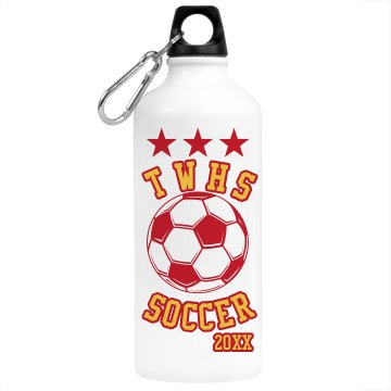 Soccer Stars Bottle Aluminum Water Bottle