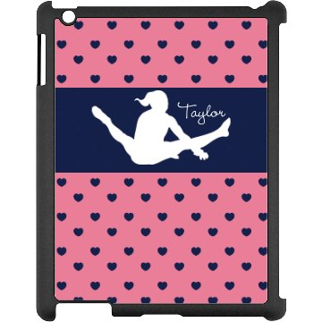 Gymnastics iPad Case Black iPad Snap-on Case