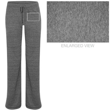 Volleyball Girl w/ Back Junior Fit Bella Straight Leg Fleece Sweatpant