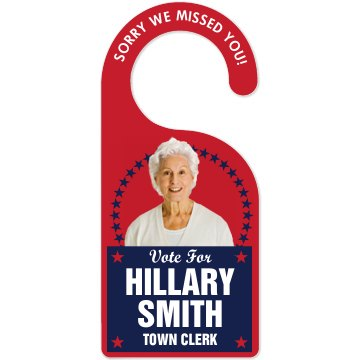 Campaign Office Door Door Knob Hanger
