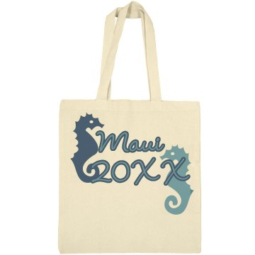 Maui Vacation Bag Liberty Bags Canvas Bargain Tote Bag