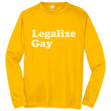 Legalize Gay Pinnie Badger Sport Lacrosse Reversible Practice Pinnie