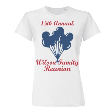15th Annual Wison Reunion