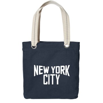 Lennon New York Bag Port Authority Color Canvas Tote