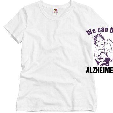 Beat Alzheimer's Misses Relaxed Fit Basic Gildan Ultra Cotton Tee