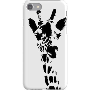 Giraffe iPhone Case Plastic iPhone 5 Case White