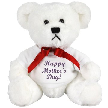 Happy Mother's Day Teddy Medium Plush Teddy Bear