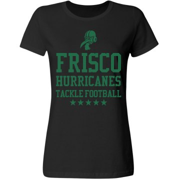 Frisco Hurricanes Misses Relaxed Fit Gildan Ultra Cotton Tee