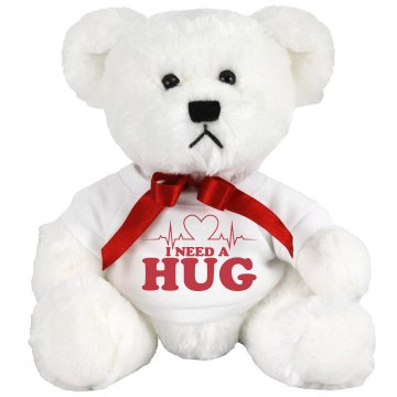 A Hospital Hug Medium Plush Teddy Bear
