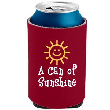 A Can of Sunshine The Official KOOZIE Can Kooler
