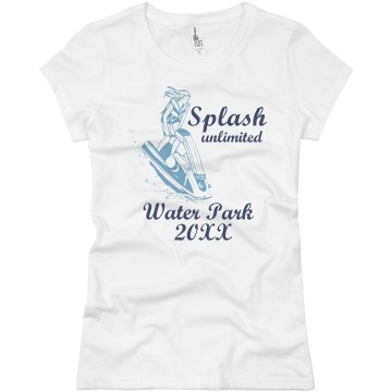 Splash Unlimited Junior Fit Basic Bella Favorite Tee