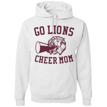 Cheer Mom Hoodie Unisex Gildan Heavy Blend Hoodie