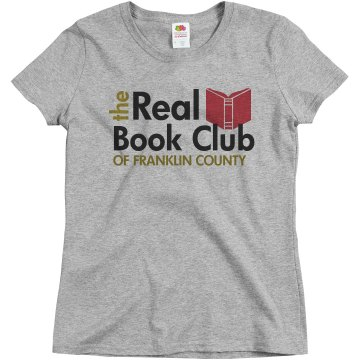 The Real Book Club Misses Relaxed Fit Basic Gildan Ultra Cotton Tee
