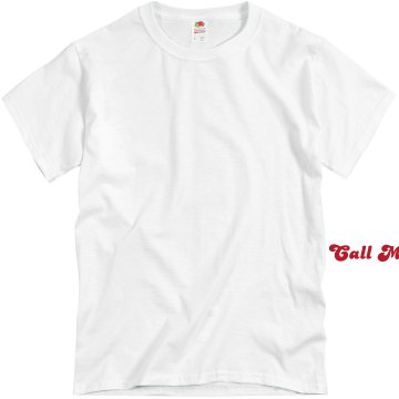 Call Me Cupid Unisex Basic Gildan Heavy Cotton Crew Neck Tee