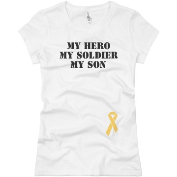 Tri-My Soldier Junior Fit Basic Bella Favorite Tee