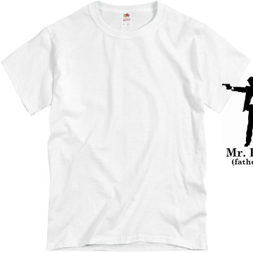 Mr. Broke Dad Unisex Basic Gildan Heavy Cotton Crew Neck Tee