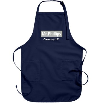 Biology Teacher Apron Port Authority Adjustable Full Length Apron
