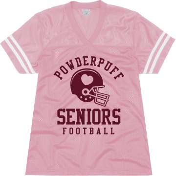 Powderpuff Seniors Junior Fit Augusta Replica Football Jersey