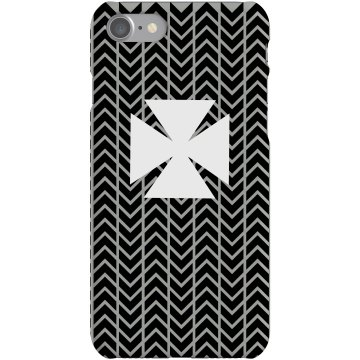 Custom Cross iPhone Case Plastic iPhone 5 Case Black