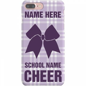 Cheerleader Cheer Case Plastic iPhone 5 Case Black