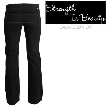 Strength Is Beauty Junior Fit Soffe Yoga Pants