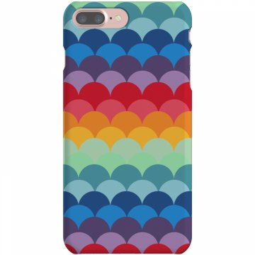 Colorful iPhone Case Plastic iPhone 5 Case White 