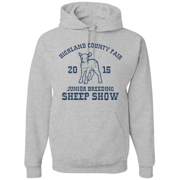 Breeding Sheep Show Unisex Gildan Heavy Blend Hoodie