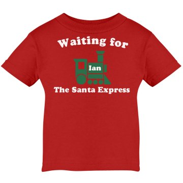 Santa Express Infant Infant Rabbit Skins Lap Shoulder Tee